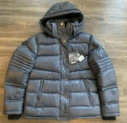 NWT Pajar Dorchester Goose Down Puffer Jacket Grey Mens Size