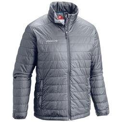 NWT COLUMBIA MENS CRESTED BUTTE INSULATED OMNI HEAT JACKET DARK GREY