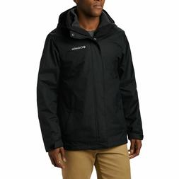 NWT Columbia Men's Eager Air Interchange Jacket Black Size L