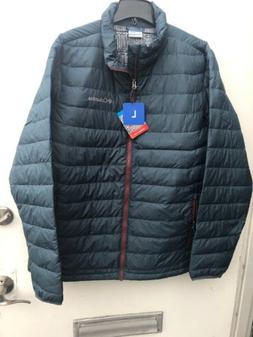 NWT Columbia Men's Large Thermal Coil Insulated Puffer Jacke