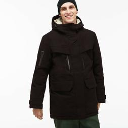 Lacoste NWT Men's Stylish and Warm Hooded Faux Fur Lined $45