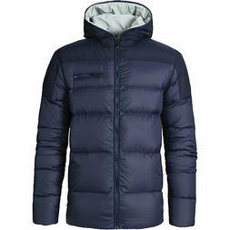 NWT Kjus Men's Vals Down Jacket Dark Blue Size 56