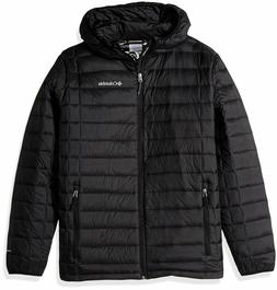 NWT COLUMBIA MEN'S VOODOO FALLS 590 TURBODOWN HOODED JACKET,