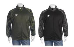 NWT CHAMPION Mens Camo Full Zip Poly Fleece Track Jacket Big