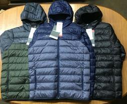 NWT Mens Eddie Bauer Cirruslite Hooded Packable Down Jacket