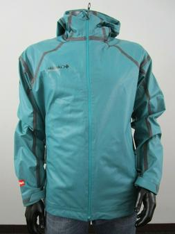 NWT Mens Columbia Outdry Hardy Road EXS Hooded Waterproof Ra