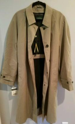 NWT Mens Polo Ralph Lauren Trench Coat Men's Jacket size 48R