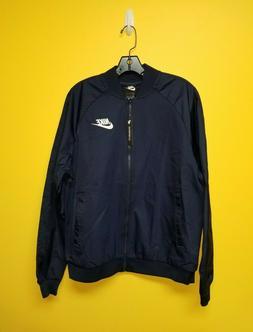 NWT Nike Mens Sportswear NSW Bomber Jacket Navy 832224-451 L