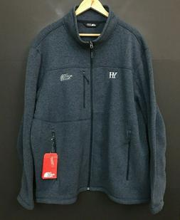 NWT The North Face Mens Sweater Fleece Jacket Navy Heather s