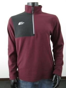 NWT Mens TNF The North Face Glacier 100 1/4 Zip Soft Fleece
