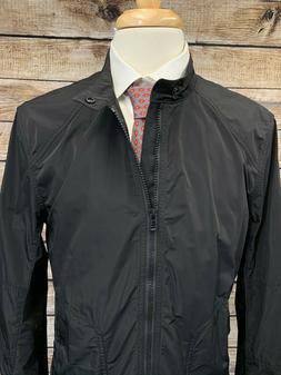 NWT Belstaff Ravenstone Cafe Racer Jacket Size 42 Black Men'