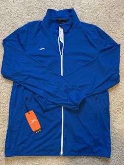 NWT KJUS Sevve Full Zip Jacket Blue Mens Size 2XL  $139