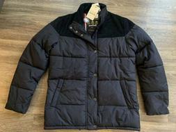 NWT Spean Quilt Coat Jacket Fibre Down Navy Blue Mens Size S