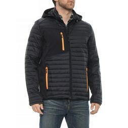 Skechers Nylon Shell Insulated Hooded Jacket - M