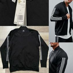 Adidas Originals ID Knit Bomber Jacket CG2130 Black|White NW