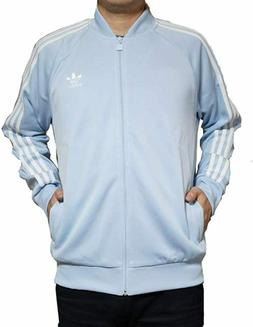 Adidas Originals Men's Superstar Track Jacket Light Blue CE8