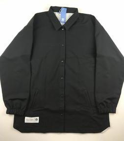 Adidas Originals Mens Size XL Crazy Eight Black Button Up Co