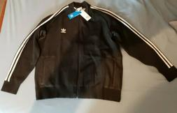 ADIDAS ORIGINALS Mens SUPERSTAR TRACK TOP KNITTED JACKET Bla