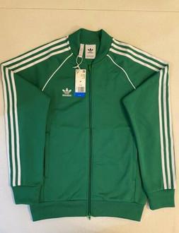 Adidas Originals Superstar Track Jacket Green White Size M C
