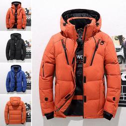 Oversize Hooded Coat Men's Winter Warm Duck Down Jacket Ski
