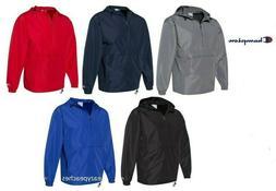 Champion - Packable Anokrak Rain Jacket, 1/4 Zip - Pack away