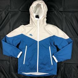 Nike Packable Windrunner Full Zip Jacket Blue Grey White 917