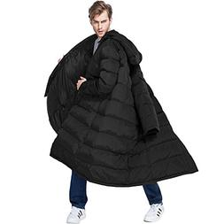 PANLTCY Men's Packaged Down Puffer Jacket With Hooded Compre