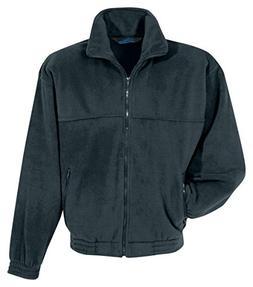 Tri-mountain Panda fleece jacket. 7600 - CHARCOAL_5XL