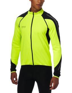 Gore Bike Wear Men's Phantom 2.0 SO Jacket, Neon Yellow/Blac