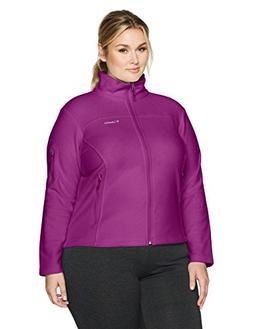 Columbia Women's Plus SizeFast Trek Ii Full Zip Fleece Jacke