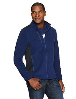 Starter Men's Polar Fleece Jacket, Amazon Exclusive, Team Na