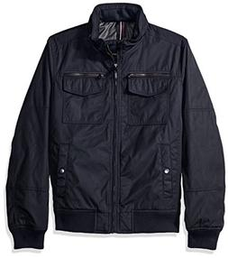 Tommy Hilfiger Men's Poly-Twill Performance Bomber Jacket, N