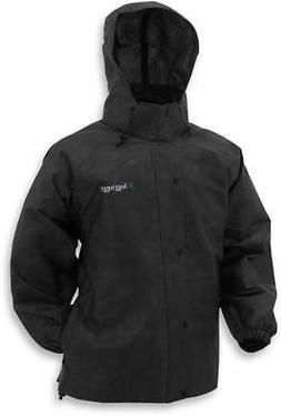 f77cc485c37be Frogg Toggs Pro Action Rain Jacket Black.