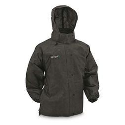 Frogg Toggs Pro Action Rain Jacket, Black, Size Large