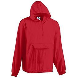 Augusta Sportswear MEN'S PULLOVER JACKET IN A POCKET 3XL Red