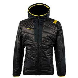 La Sportiva Men's Quake Primaloft Jacket, Black/Yellow, XL