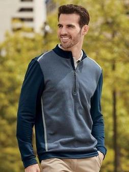 Adidas - Quarter-Zip Birdseye Fleece Pullover - A277