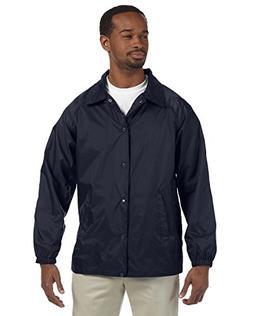 raglan sleeves nylon staff jacket