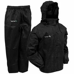 Frogg Toggs Men's All Sports Rain and Wind Suit, Black, Smal