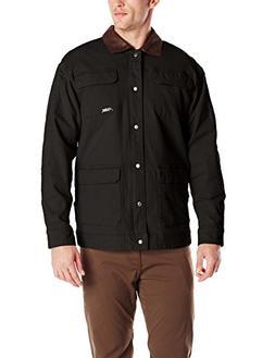 Mountain Khakis Men's Ranch Shearling Jacket, Black, Small