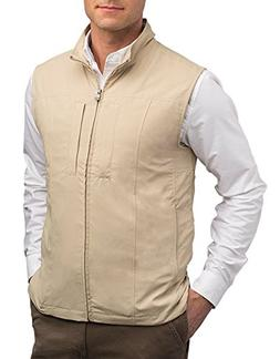 SCOTTeVEST Men's RFID Travel Vest - 26 Pockets - Travel Clot