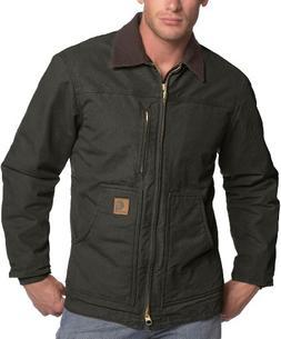 Carhartt Men's Ridge Coat Sherpa Lined Sandstone,Moss,XXXX-L