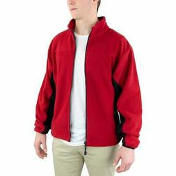 River's End Microfleece Jacket  Athletic   Outerwear - Red -