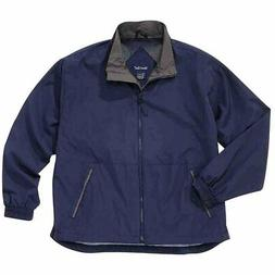 River's End Mid-Length Microfiber Jacket  - Navy - Mens