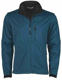 River's End Soft Shell Jacket  - Blue - Mens