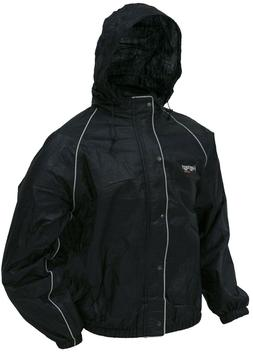 e3b8ac2a85314 Frogg Toggs Road Toadz Jacket Black .