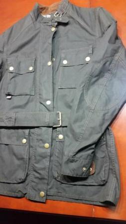 Belstaff  Roadmaster Jacket NWT IT Size M  Black w/Plaid int