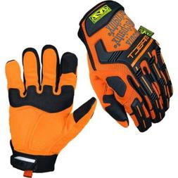 Mechanix Wear Safety M-Pact Protection High-Visibility Glove