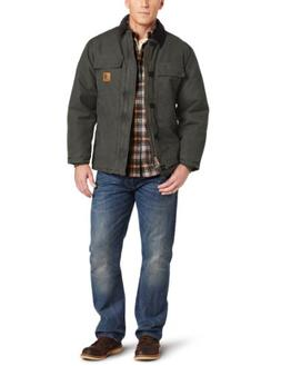 Carhartt Men's Arctic Quilt Lined Sandstone Traditional Coat