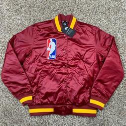 Nike SB x NBA Bomber Jacket Team Size Medium Mens Maroon Gol